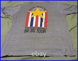 Vintage Rare 1984-85 NEIL YOUNG Vintage Concert Tour T-Shirt (XL) ORIGINAL