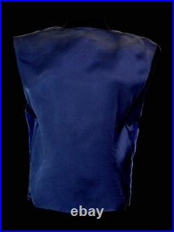 Vintage Versace Jeans Couture Purple Vest