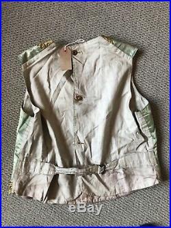 Vintage Victorian Silk Italian Waistcoat, Extreamely Rare