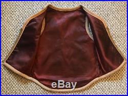 Vintage Vtg 1960s 60s Navajo Native Indian Blanket Zip Up Vest Unisex