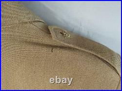 Vintage WWII French Navy Uniform Jacket 1940s Military Waistcoat France Army