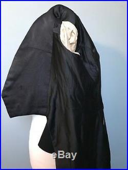 Vintage edwardian bespoke White tie tailcoat evening tails size 40
