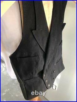 Vintage mens 1929 Waist coat/vest