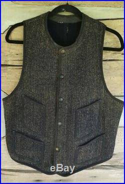 Vintage original Brown's Beach cloth vest