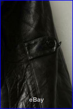 Vtg 50s GUIDEMASER Steerhide Leather Sports Motorcycle Jacket Size 38/40