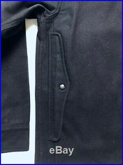 Vtg 50s SPORT TOGS Wool Mackinaw Cruiser Jacket 38 S / M coat HUNITING Work Wear