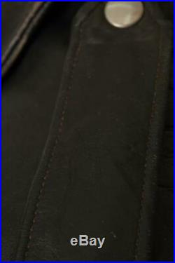 Vtg 70s SCHOTT PERFECTO'One Star' Leather Motorcycle Jacket 46/48