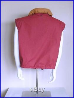 Vtg 90s GAP nautical boho camp technical COLORBLOCK anorak vest & jacket coat XL