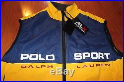 Vtg 90s New With Tags Deadstock Polo Sport RLX Ralph Lauren Ski Vest Mens Sz M