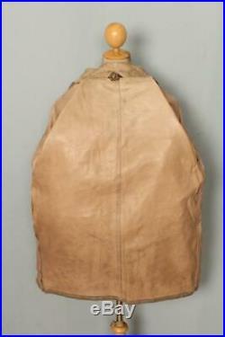 Vtg BELSTAFF Panther Belted Leather Motorcycle Jacket Size Large