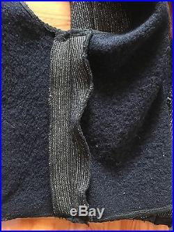Vtg Browns Beach Vest Cloth Jacket Railroad Worker Workwear 30s 40s 20s Retro