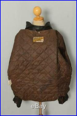 Vtg SCHOTT PERFECTO 115 Cowhide Leather CHP Motorcycle Jacket Size 50