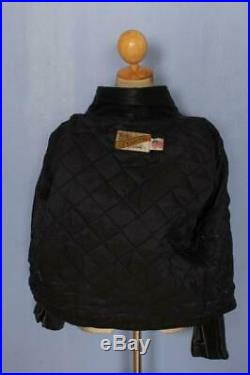 Vtg SCHOTT PERFECTO 618 Steerhide Leather Motorcycle Jacket Size 44/46