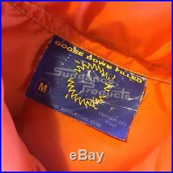 Vtg Ski Vest Lot (2) Goose Down Puffy Coat USA His & Hers Matching Sundance
