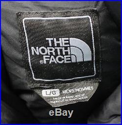 Vtg THE NORTH FACE black PUFFY 700 series DOWN WINTER VEST JACKET men's LARGE