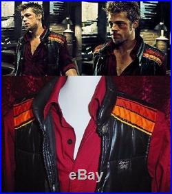 Vtg Ultra Rare Fight Club Tyler Durden Brad Pitt Simpson Racing Vest