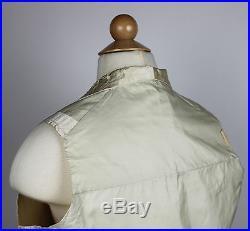 Wonderful Gentlemens Ivory Silk Wedding Embroidered Waistcoat Vest 1840 to 1850