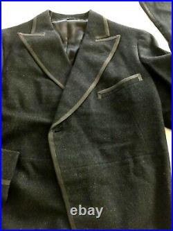 Wool Tuxedo 1935 tuxedo tails, pants, vest John P Coolidge Fogg Museum